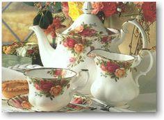 View Royal Albert China at Schwartz & Co!Royal Albert china at off. Great value and prices on Royal Albert dinnerware. We here at Schwartz & Company are committed to bringing you only the best products and service Royal Albert, Antique China, Vintage China, Vintage Teacups, Vintage Glassware, Tea Cup Saucer, Tea Cups, My Cup Of Tea, Tea Service