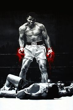 The greatest art of fighting, sports art, black art, muhammad ali boxing, b Mohamed Ali, Boxing Training, Boxing Workout, Boxing Boxing, Boxing Gloves, Boxing Club, Ufc, Boxe Mma, Boxe Fight