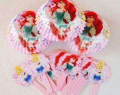 Amazon.com: Disney Princess Cupcake Combo Pack: Toys & Games