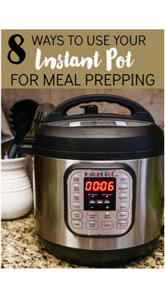 Lunch Meal Prep, Easy Meal Prep, Easy Meals, Make Ahead Lunches, Prepped Lunches, Make Shredded Chicken, Pressure Cooking Recipes, Dishes To Go, Healthy Brunch