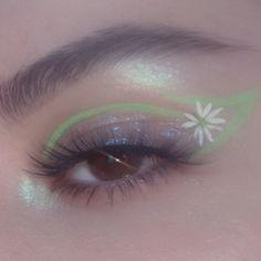 Indie Makeup, Edgy Makeup, Makeup Eye Looks, Eye Makeup Art, Cute Makeup, Pretty Makeup, Skin Makeup, Makeup Inspo, Eyeshadow Makeup