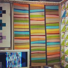 Valori Wells quilt is in the book We Love Color.