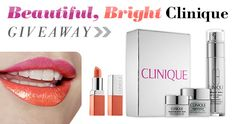 Win The Beautiful Bright Clinique Giveaway