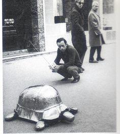 R/C Tortoise, François Xavier Lalanne 1966