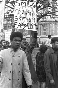 ... by Neil Kenlock of the British Black Panther party from 1968-1972