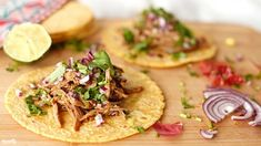 Pulled Pork Tacos, Sandwiches, Lime, Mexican, Ethnic Recipes, Food, Shell, Wraps, Recipes