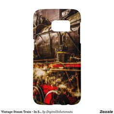Vintage Steam Train - In Steam Samsung Galaxy S7 Case