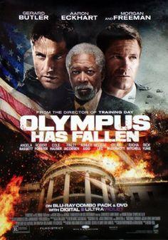 Olympus Has Fallen 27x40 Movie Poster Used Rare 2013 Morgan Freeman – Mason City Poster Company