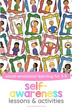 Teach children to be self-aware, identify and communicate their emotions, build self-esteem, and learn about role models and personality traits with this social emotional learning resource for third grade, fourth grade, and fifth grade. Kids will play games, engage in discussions and community building experiences, listen to mentor texts, and write about their experiences. Teaching Respect, Teaching Kids, Character Education Lessons, Mentor Texts, Social Emotional Learning, Self Awareness, Fourth Grade, Disappointment, Self Esteem