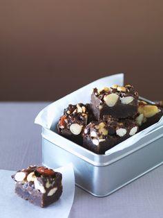 Nuss-Schoko-Konfekt mit Honig | Zeit: 45 Min. | http://eatsmarter.de/rezepte/nuss-schoko-konfekt-mit-honig