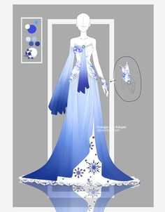 Auction - Frozen Lapis [CLOSED] by Orange-Lily-Adopts on DeviantArt