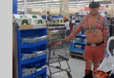 Here is awesome photo collection of funny people that grace us with their presence at Wal-Mart. Don't miss funny people of Walmart. lol - Page 4 of 30 People Of Walmart, Go To Walmart, Only At Walmart, Walmart Photos, Walmart Humor, Walmart Shoppers, Funny People Pictures, Funny Dog Photos, Hilarious Pictures