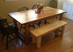 Rustic Table Set and Bench   The Best Wood Furniture, table, tables, table legs, table legs diy, table legs ideas, table leg ideas, tables diy, tables made from pallets, tables dining, tables decor, tables made out of pallets, tables makeover, tables basses, tables for small kitchen, tables for small spaces, tables for kids, tables for living room, wood table, wood table diy, wood table top, wood tables, wood table legs, wood table rustic, wood table decor