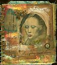 """""""Overflow with Hope"""" from an altered calendar."""