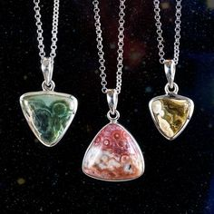 Ocean Jasper Pendants for attracting love and happiness