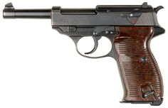 A great classic semiauto from WW2: The walther P38 Cal. 9x19