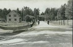 Hedmark fylke Eidskog kommune Magnor tollstasjonen Foto Th. A.Lystad stemplet 1947