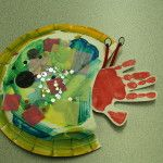 H is for hermit crab.  Craft for Book, A House for Hermit Crab by Eric Carle (from Mom Trusted /Early Teacher)