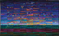 The Quilts of Ann Brauer--Abstract landscapes in fiber on the Behance Network