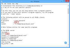 Mengubah Port default MySQL pada XAMPP | Akang Cyber