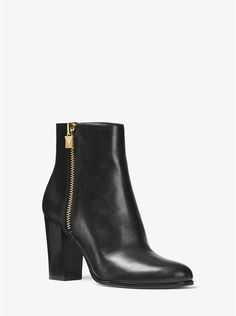 cedf44c0ae0 Margaret Leather Ankle Boot Suede Ankle Boots