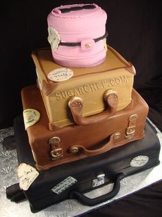 Luggage Cake- SugarChef Cakes