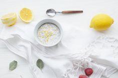 Lemon chia porridge / Sitruunainen chiapuuro by Karita Tykkä