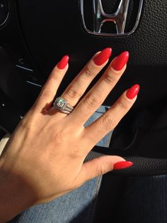 Pointy Nails (color is pearl red) I love them. Thanks Tu you did a great job. :)