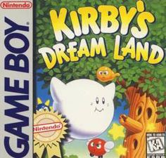 Kirby's Dream Land (Hoshi no Kirby), Nintendo/HAL Laboratory, Inc. Gameboy Games, Nintendo Games, Kirby Nintendo, Video Game Art, Video Games, Arcade, Playstation, Video Game Companies, Dream Land