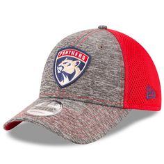 9d60203d1cc Men s Florida Panthers New Era Heathered Gray Shadow Turn 9FORTY Adjustable  Hat