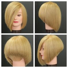 Stacked Bob Haircut Tutorial