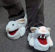 Funny bunny footwear