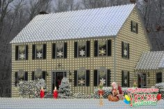 Display of the Day: White Christmas!