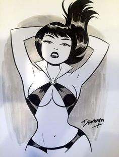 Cool Vampirella by Darwyn Cook
