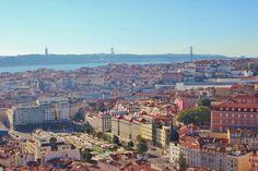 Scenic Viewpoints in Lisbon #3: Miradouro da Nossa Senhora do Monte. 10 must see views of Lisbon, Portugal