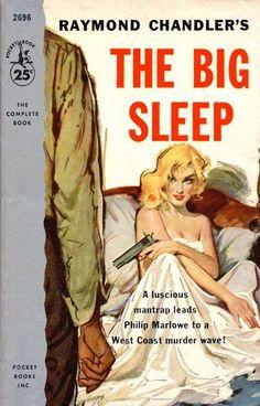 pinterest.com/fra411 #pulp The Big Sleep