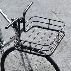 Copenhagen Parts - Bike Porter Black - Basket Velo Cargo, Touring Bicycles, Bicycle Tools, Black Basket, Retro Bike, Bike Photo, Bike Wear, Garage Makeover, Bike Style