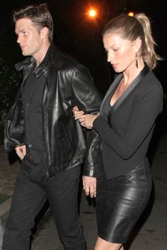 Celebrity couples that dress-alike: Gisele Bundchen and Tom Brady