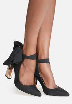 Charlotte wrap heel - Glamorous