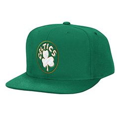 bba7562ab3d Mitchell   Ness NBA Wool Solid 2 Snapback Cap (Green