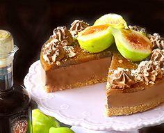 Cheesecake con mousse alla ricotta cioccolato con crema di fichi all'Aceto Balsamico di Modena IGP - Balsamico IGP