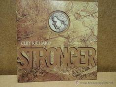 CLIFF RICHARD. STRONGER. CD - EMI - 1989 - 12 TEMAS - CALIDAD LUJO.