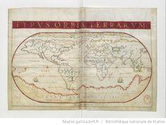 João Teixeira Albernaz, I (fl. 1602-1649) - «Typus Orbis Terrarum». In: [Atlas nautique du monde] / [Atribuído a João Teixeira Albernaz ]. 1640. 6ª carta. Biblioteca Nacional de França Cota: Rés. Ge. FF 14409