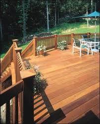 cedar decking, railing supply