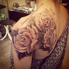rose tattoo | Tumblr
