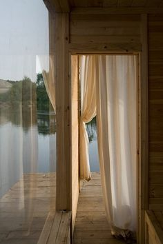 Kaluga Floating Sauna, Czech Republic