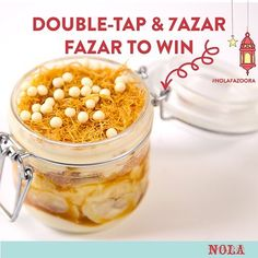 #NOLAFazoora: What is the name for this heavenly delight? Fill in the Blanks for the name of this Ramadan Favorite Dessert at NOLA !! Kana  Francesca !! Winner gets a box of 6 cupcakes.  #NOLARamadan  Rules: Must collect prize today // one winner only // picked by random // Must like picture and comment to win !!