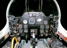 North American F-86D Cockpit