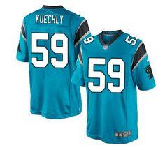 Carolina Panthers Jersey -  59 Luke Kuechly Jersey Carolina Panthers Luke  Kuechly 9e63785a7