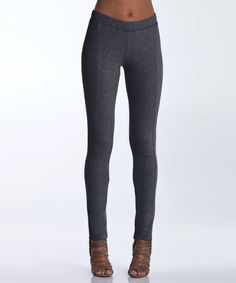 Take a look at this Charcoal Birch Leggings by lur® on #zulily today!